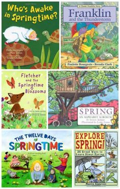 Ring in Spring with these beautiful books about weather, nature, baby animals and fun ways to explore the season!