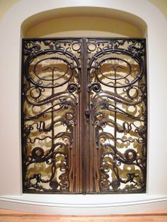 Portal Gates by Albert Paley, 1974, steel, brass, copper and bronze | Flickr - Photo Sharing!