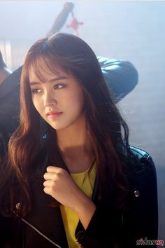 Child Actresses, Korean Actresses, Korean Actors, Actors & Actresses, Korean Beauty, Asian Beauty, Kim Son, Korean Bangs, Kim So Hyun Fashion