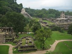 Palenque Mayan ruins oh-the-places