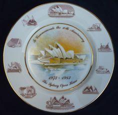 Sydney Opera House 10th Anniversary plate Macquarie Benz Ceramics No 6211 | eBay