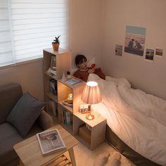 , 70 Dorm Room Minimalist Inspiration Dekor Ideen ~ ❣︎「 29 bedroom ideas for small rooms 22 Room Ideas Bedroom, Small Room Bedroom, Home Bedroom, Bedroom Decor, Dorm Room, Bedroom Simple, Bedroom Designs, Bedroom Ideas For Small Rooms Diy, Minimalist Dorm