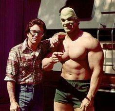 Between Filming Incredible Hulk TV Show, Bill Bixby & Lou Ferrignio ! 10 Film, The Incredible Hulk 1978, Comic Book Characters, Comic Character, Best Bodybuilding Supplements, Bodybuilding Fitness, Hulk Movie, Mejores Series Tv, Red Hulk