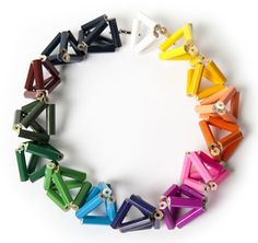 Margherita Marchioni Necklace: Untitled 2011 Coloured pencils