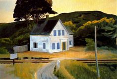 Edward Hopper:  Dauphinee House (1932)