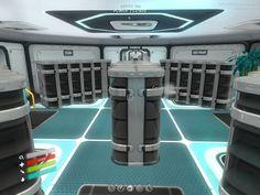Organizing my storage room, before I decorated =) - Storage ideas - *Subnautica screenshot aLizzay