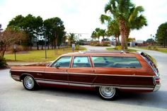 1972 Chrysler Town and Country Station Wagon