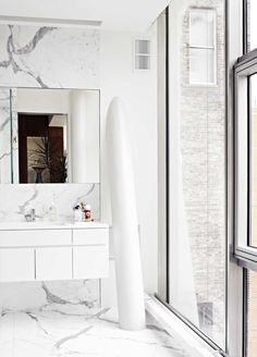 High Line 23, New York. #marble #modern #bathroom