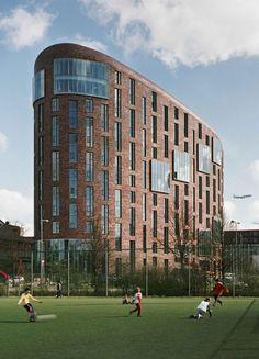 The OZW Institute at VU University Amsterdam, NL designed by Jeanne Dekkers