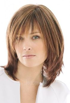 Short Layered Haircuts, Short Hair Cuts, Medium Haircuts, Straight Haircuts, Pixie Haircuts, Straight Bob, Pixie Cuts, Medium Length Layered Hairstyles, Shoulder Length Hair Cuts With Bangs