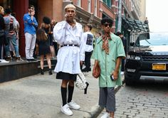 Phil Oh's Best Street-Style Pics from New York Fashion Week: Men's Spring '18