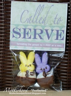 """Motherhood """"Perfected"""": EASTER gifts for Your MISSIONARY"""