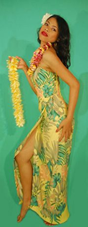 Dorothy Lamour Whirling Turban dress