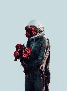 充滿詩意的寂寞太空人攝影作品 — David Schermann – 凱亞克的城市美學