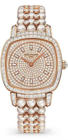 pearls.quenalbertini: Patek Philippe Jewelery Watch | The Jewelery Edi- tor