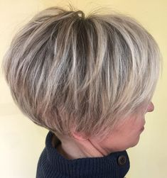 Rounded Pixie Bob With Wispy Layers - Hair Beauty Short Hair With Layers, Short Hair Cuts For Women, Layered Hair, Short Hairstyles For Women, Short Hair Styles, Long Pixie Hairstyles, Pixie Haircuts, Medium Hairstyles, Braided Hairstyles