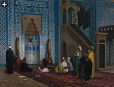 "Jean-Léon Gérôme has often been accused of voyeurism, too, which restricts the modern popularity of his work: ""Rustem Pasha Mosque"" is more accurate architecturally than in its casual depiction of Islam"