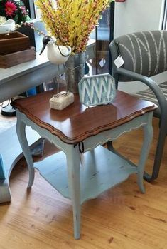 shabby chic furniture painted furniture by RoysTimelessTreasure