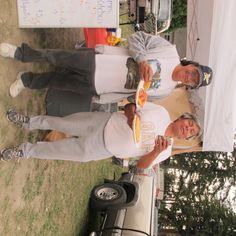 My hubby Jeff Edwards & Rocky- macking on Frybread made by Stephanie McCoy at the Swinomish Bone Games 2011