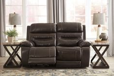 Pin By Meubles Ashley Homestore On Espace Familial Love Seat Recliner Recliner Chair