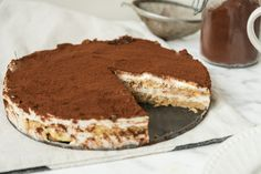 Fit TIRAMISU Healthy Cake, Healthy Recipes, Tiramisu, Baking Recipes, Fitness, Deserts, Food And Drink, Low Carb, Drinks