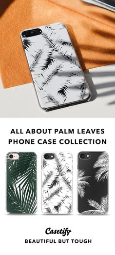 """""""Simplicity is the ultimate sophistication."""" - Leonardo da Vinci   Top iPhone 7 Cases and iPhone 7 Plus Cases for Palm Leaves Lovers. For more Tropical Cases, SHOP here ☝☝☝ BEAUTIFUL BUT TOUGH ✨- Tropical, Summer, Vibes, Minimal, Leaves"""