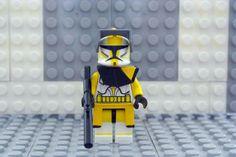 Lego Star Wars ~Clone Wars Clone Trooper ~ Commander Bly Custom #LEGO