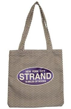 Strand Tote Bag: Millions of Books! This souvenir from my first trip to NYC has become my ballet bag. And sparked my love of tote bags. $12.95. 5/5
