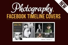 Photography Facebook Timeline Covers by TomAnders on Creative Market