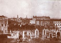 img853-1 Paris Skyline, Travel, Painting, Art, Zaragoza, Temple, Antique Photos, Cities, Fotografia