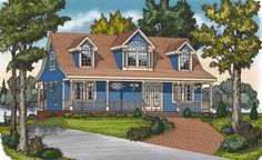 This 1 story Cottage features 1056 sq feet. Call us at 866-214-2242 to talk to a House Plan Specialist about your future dream home!