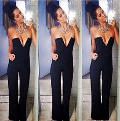 e464c6fc43ef New Sexy Bodycon Jumpsuit Trousers Rompers Evening Party Casual Sleeveless  Playsuit