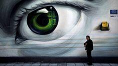 Across Athens, Graffiti Worth a Thousand Words via New York Times