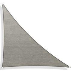 Freeport Park Solon 10' Triangle Shade Sail | Wayfair Tarp Shade, Triangle Shade Sail, Backyard Shade, Ropes, Sailing, Shades, Sun, Park, Candle