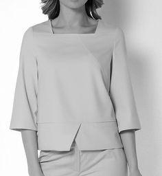 Dress Neck Designs, Blouse Designs, Hijab Fashion, Fashion Dresses, Shirt Bluse, Couture Tops, Mode Hijab, Mode Outfits, Women's Summer Fashion