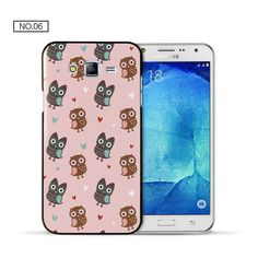 For coque samsung J7 case Cute Owl hard PC cover for samsung galaxy J7 2016 new arrivals for fundas samsung galaxy J5 J7 case