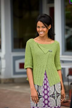 This beautiful crochet cardigan is one of my all-time favorites. Sage Jacket - Media - Crochet Me