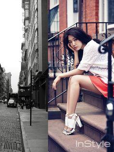 Park Shin Hye - InStyle Magazine June Issue '14