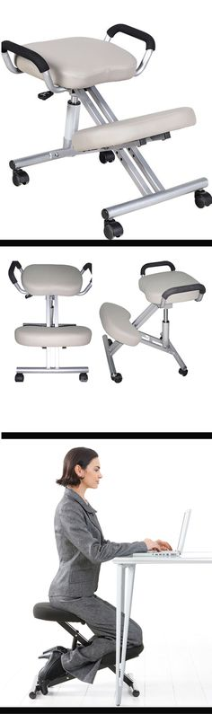 Fight the ache and improve posture with an Ergonomic Kneeling Chair for only RM188!