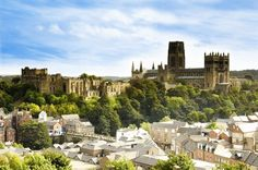 A beautiful Spring skyline shot of Durham City