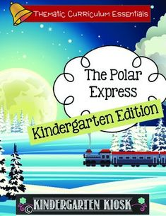 """Are you looking for classroom tested activities to enhance your study of the Polar Express? Your classroom and/or homeschool students will love this activities. This """"Developmentally Appropriate"""" Polar Express Thematic Unit is strategically linked to the common core standards."""