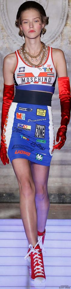 Moschino from the Menswear Collection 2016