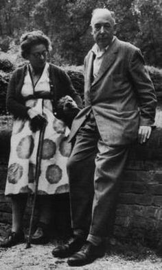 Lewis with his wife, Joy, in 1958.