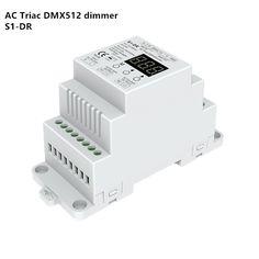 check price dmx dimmer din rail ac100 240v 288w 2 channel triac dual channel output silicon dmx 512 #triac #dimmer