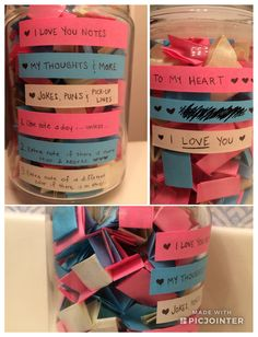 365 jar this is a great diy gift for anyone at any time birthdays i made this for my boyfriend as a new years gift i made the notes solutioingenieria