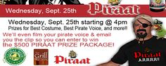 Talk Like A Pirate Night
