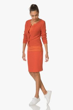 Shop the look - Fashionably ton-sur-ton Dresses For Work, Sweaters, Outfits, Shopping, Fashion, Moda, Suits, Fashion Styles, Sweater
