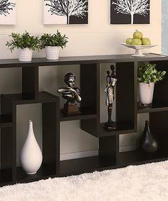 Look what I found on #zulily! Black Neville Modern Display Case by Furniture of America #zulilyfinds