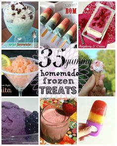 Small Things: 35 Homemade Frozen Treats
