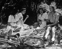 The Passion of Former Days: rita hayworth picnic